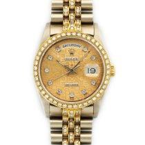 Rolex Day-Date Original Full Diamond Watch Ref. 18349BIC