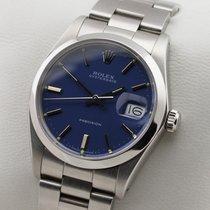 Rolex Oysterdate Precision Edelstahl Handaufzug Manual Mint