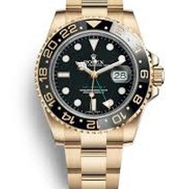 Rolex 116718 GMT-Master II Black Dial Yellow gold