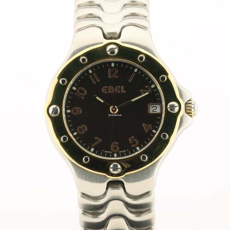 Ebel Sportwave E6187631 1998 подержанные