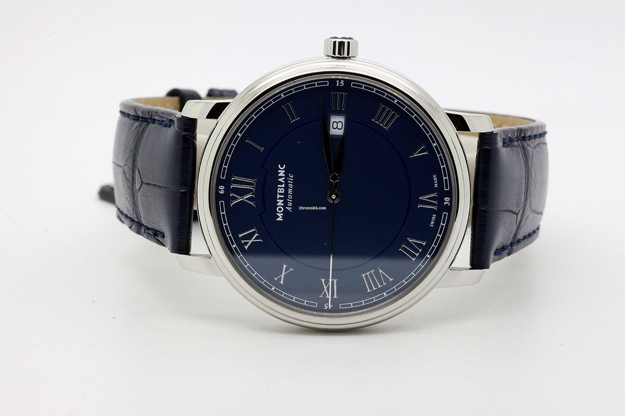 27d50bc6a9f Montblanc Tradition Automatic Date Automatic 40mm 117829 R for ...