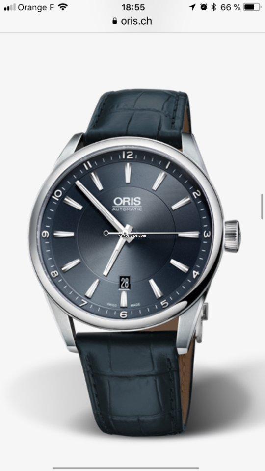 64d89b6651 Montres Oris d'occasion - Comparer les prix des montres Oris d'occasion