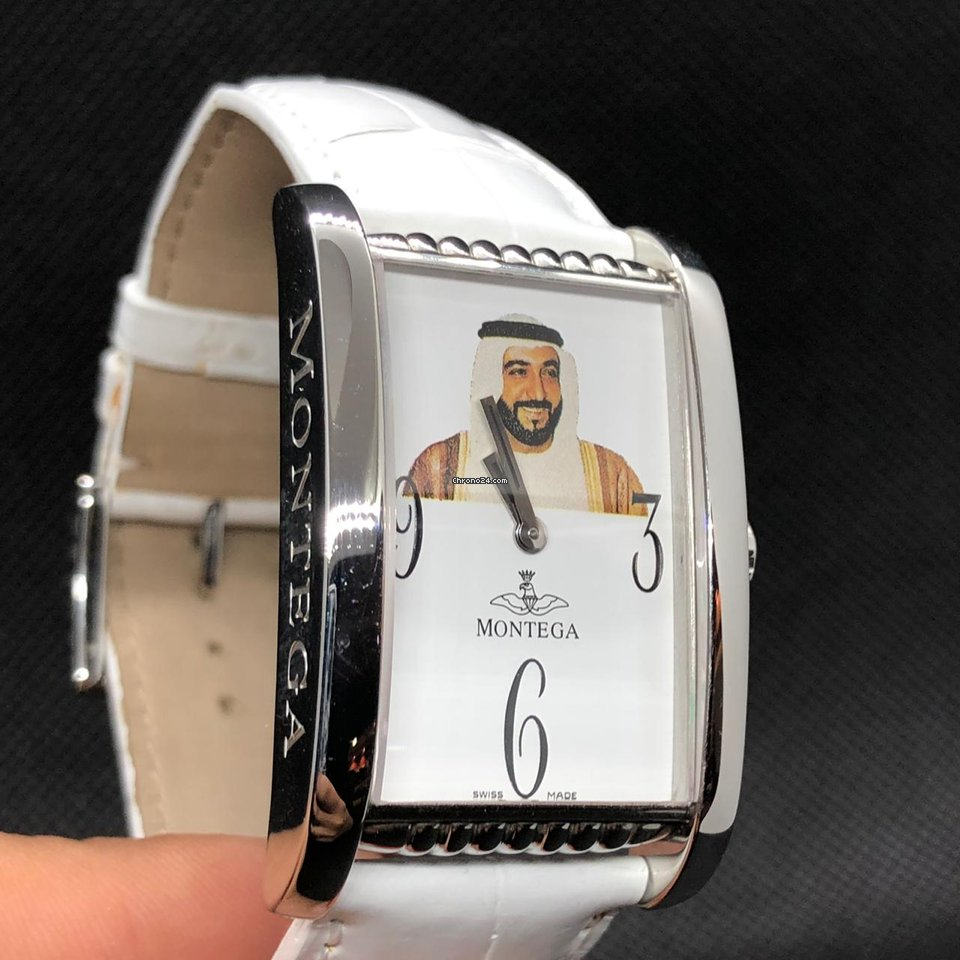 Montega STEEL Quartz 26.5mm x 36mm Shaik Sheikh KHALIFA LOGO UAE eladó 410  314 Ft Seller státuszú eladótól a Chrono24-en e64113a148