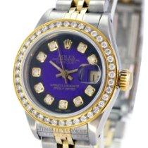 Rolex Lady-Datejust Zlato/Ocel 26mm Bez čísel