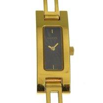 Gucci Pозовое золото Кварцевые Чёрный 12mm подержанные