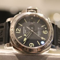 Panerai Steel Automatic Black No numerals 44mm pre-owned Special Editions