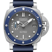 Panerai Luminor Submersible Acero 42mm Gris