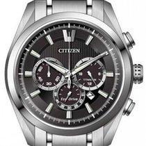 Citizen new Quartz Luminescent Hands 43mm Titanium Sapphire crystal