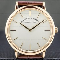 A. Lange & Söhne Saxonia 211.033 Very good Rose gold 40mm