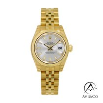 Rolex Lady-Datejust Yellow gold 26mm Silver No numerals United States of America, New York, New York