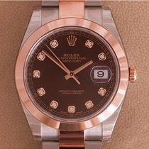 Rolex Datejust II Chocolate Diamond Dial