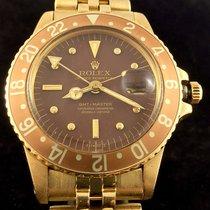 Rolex GMT-Master Gold 1675 Brown Tiger Eye