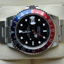 Rolex [near NOS+Rectangular+Service] GMT Master II Pepsi, Z -...