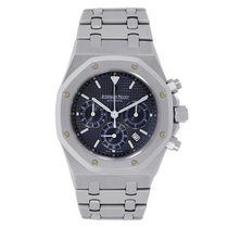 Audemars Piguet Royal Oak Chronograph 39mm Dark Blue Dial...