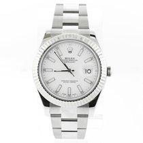 Rolex Datejust II Steel 41mm White No numerals United States of America, New York, new york