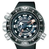 Citizen Promaster Marine Steel 52,5mm Black Arabic numerals