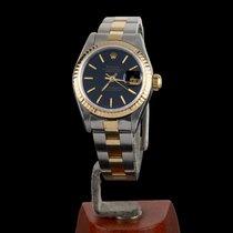 Rolex Lady-Datejust Acero y oro 26mm Negro Sin cifras España, Madrid