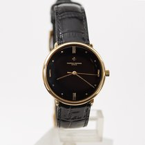 Vacheron Constantin pre-owned Manual winding Black
