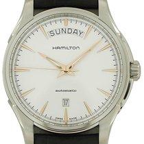 Hamilton Jazzmaster Day Date Auto Acier 40mm Blanc