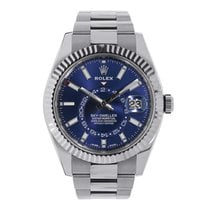 Rolex Sky-Dweller 42mm Stainless Steel Blue Dial Watch 326934