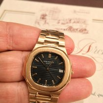Patek Philippe 3900/1 Or jaune 1984 Nautilus 33mm occasion