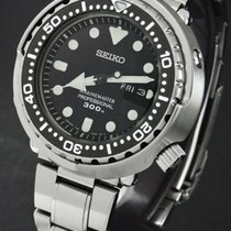 Seiko Steel Quartz 48mm new Marinemaster