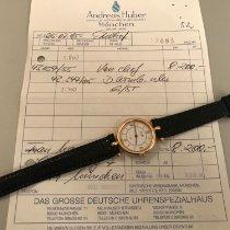 Van Cleef & Arpels Gelbgold 27mm Quarz 43347 gebraucht