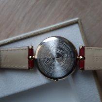 Versace Damenuhr 34mm Quarz gebraucht Uhr mit Original-Box 2019