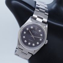 Rolex Air King Steel 34mm Purple No numerals United States of America, New York, Forest Hills