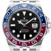 Rolex 126710BLRO Steel GMT-Master II 40mm new