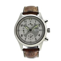 IWC Steel 38mm Automatic Pilot Chronograph pre-owned