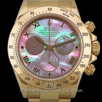 Rolex 116528 Zuto zlato Daytona 40mm rabljen