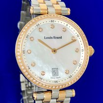 Louis Erard Steel 16mm Quartz 11810SB24 new