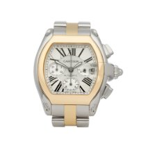 Cartier Roadster W62027Z1 or 2618 2010 pre-owned
