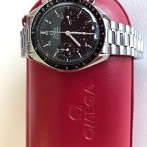Omega Speedmaster Reduced Acier 39mm Noir Arabes France, La Wantzenau