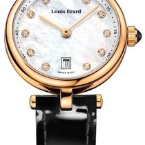 Louis Erard Romance Gold/Steel 30mm