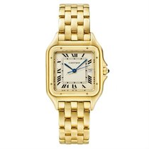 Cartier Panthère Yellow gold 27mm White United States of America, New York, NY