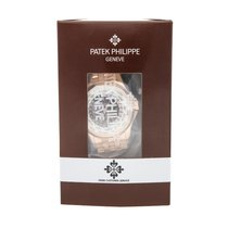 Patek Philippe World Time Rose gold 39mm Silver No numerals United States of America, Pennsylvania, Bala Cynwyd