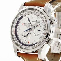 Jaeger-LeCoultre Master World Geographic Otel 41mm Argint