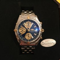 Breitling Blackbird new 1998 Automatic Chronograph Watch with original box and original papers B13350