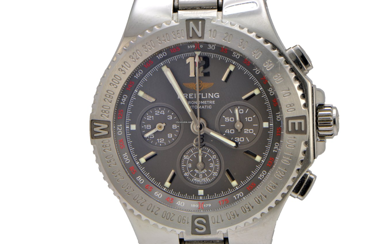 breitling hercules chronograph stainless steel a39362 verkauft auf chrono24. Black Bedroom Furniture Sets. Home Design Ideas