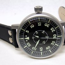 Aristo Steel Automatic Black Arabic numerals 55mm new Navigator