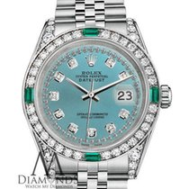 Rolex Lady-Datejust Steel 26mm Blue No numerals United States of America, New York, New York