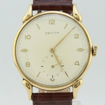 Zenith Yellow gold 35mm Manual winding pre-owned