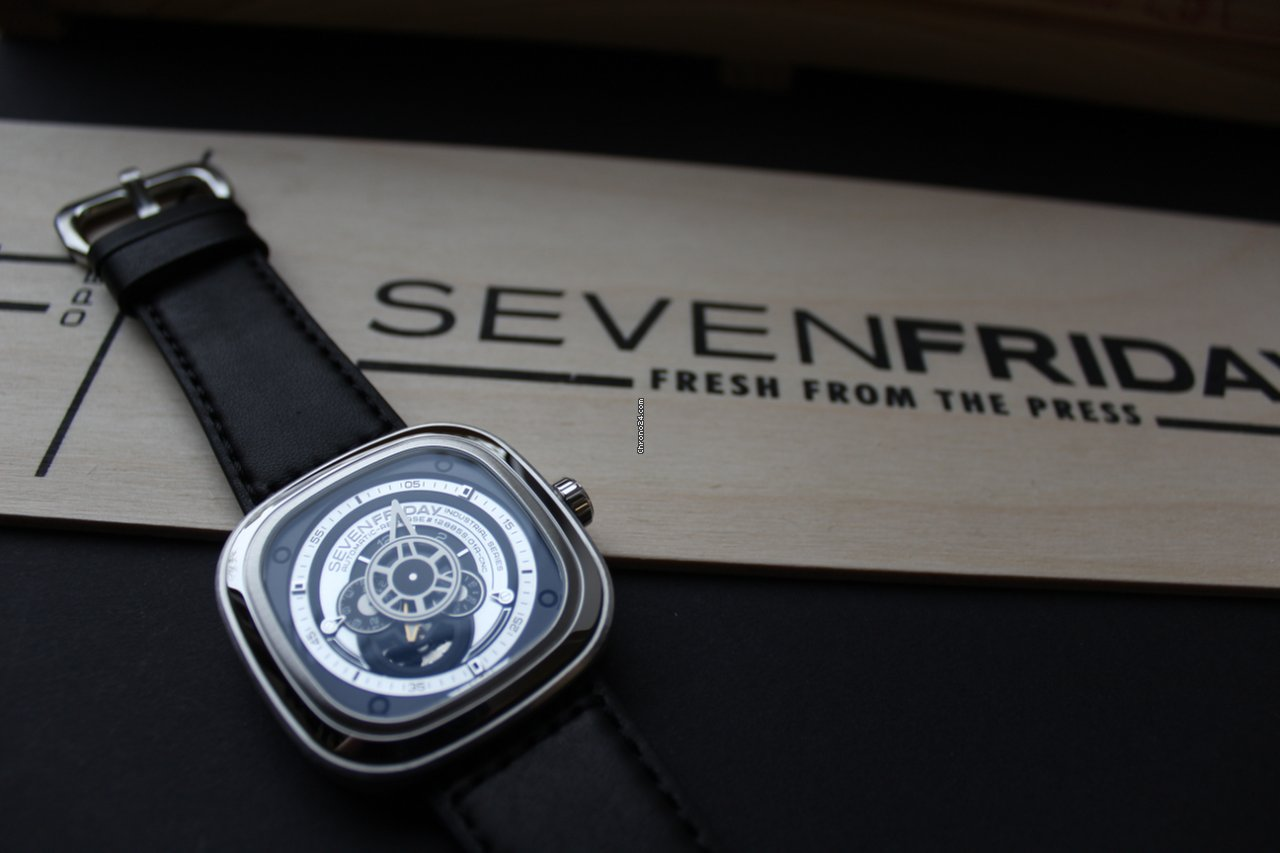 Sevenfriday P1b 1 For Rs 77296 Sale From A Trusted Seller On Silver Chrono24