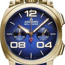 Anonimo Militare neu 2020 Automatik Chronograph Uhr mit Original-Box und Original-Papieren AM-1120.04.003.A03