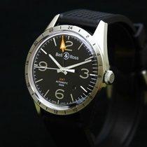 Bell & Ross Vintage 42 GMT - BR 123-93SP GMT - Full set - NOS