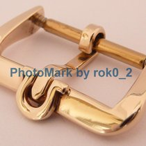 Omega vintage 9K Solid Yellow GOLD 9ct MWF 16mm Tang Buckle...