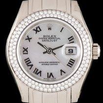 Rolex Pearmaster Datejust Unworn White Gold 80339
