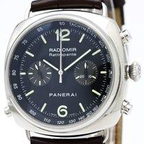 パネライ Radiomir Automatic Stainless Steel Men's Sports Watch...
